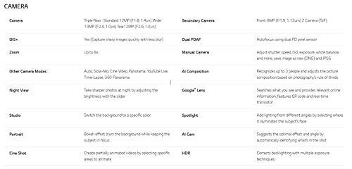 LG G8s Smartphone (15,77 cm (6,21 Zoll) OLED Display, 128 GB interner Speicher, 6 GB RAM, DTX:X Sound, Android 9) Mirror White