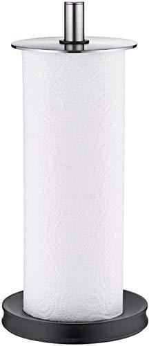 WMF Depot Küchenrollenhalter stehend, 32 cm, Cromargan Edelstahl, Silikonfüße spülmaschinengeeignet