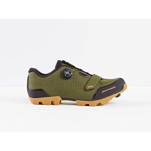 Bontrager Foray 2020 - Zapatillas para Bicicleta de montaña, Color Verde y Negro, 41