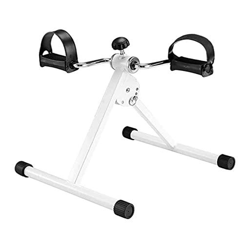 YVX Mini Bicicleta estática Plegable, Equipo de Ejercicio de piernas Flacas y perezosas, Mini Bicicleta estática con Pedal de rehabilitación en el hogar, Equipo portátil de Ejercicios para Inter