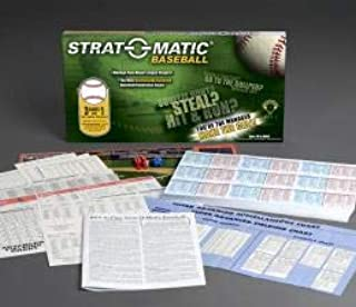 Strat-O-Matic Enemies Baseball Game