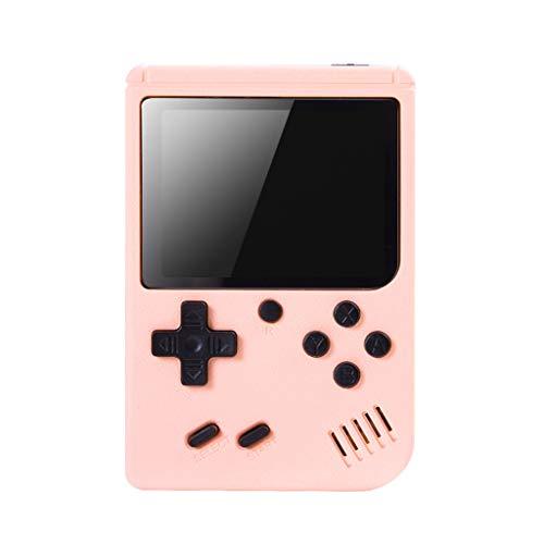 Mini Consola de Juegos Retro cdhgsh incorporada 800 Juegos clásicos Consola de Juegos FC Recargable Mini Consola de Juegos Retro Rosa
