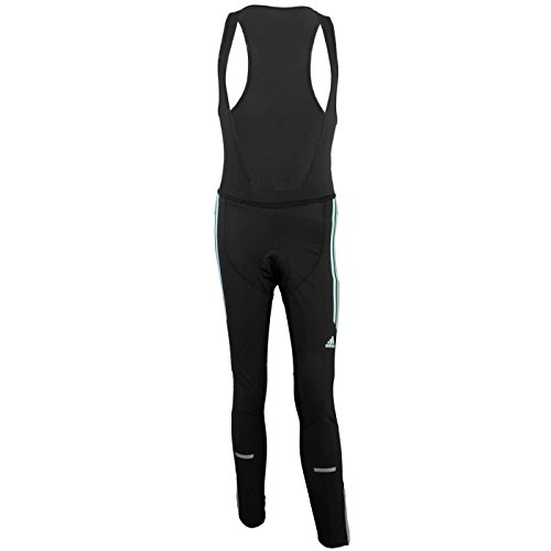 Adidas Response Team Winter Tight W F87526 Dames Shorts/Fietsbroek/Tight Zwart
