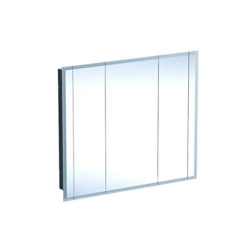 Geberit Een spiegelkast, 1150x1000x160mm, incl. verlichting, 3 deuren, 500496001-500.496.00.1