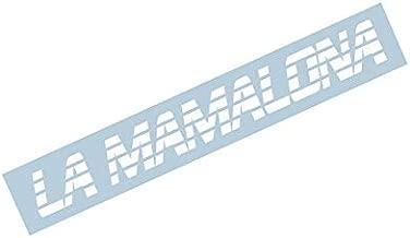 La Mamalona Strike Lines Windshield Banner Decal Sticker (40