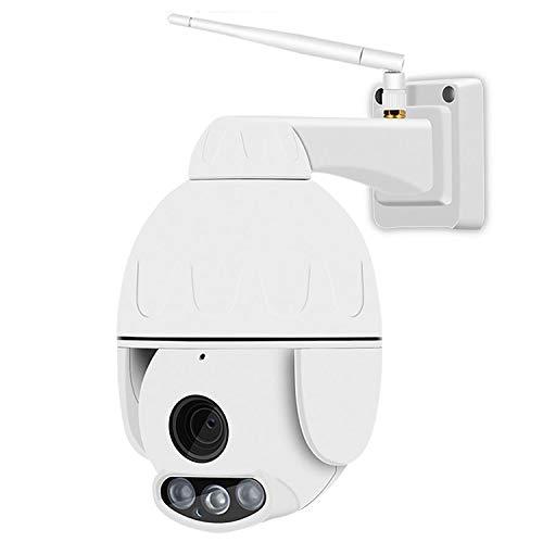 Cámara IP WiFi 1080P HD Cámara Domo de Seguridad CCTV inalámbrica a Prueba de Agua con Lente de 3.6 mm 355 ° Pan / 90 ° Tilt, Audio de 2 vías, Visión Nocturna IR-Cut, Detección de Movimiento