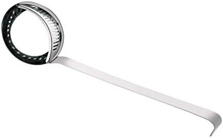 2 in 1 soeplepel roestvrijstalen vergiet afneembare paplepel met filterzeef keukengereedschap