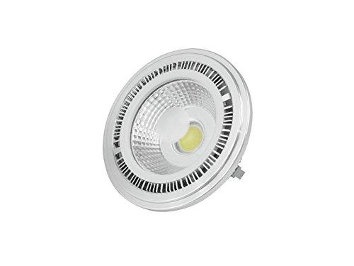 showking LED Leuchtmittel PAR - 36 12V / 7W / Sockel G - 53 STC / 25000h / 6400K - Kaltweiß - Kaltweißes LED Leuchtmittel für PAR Bühnenscheinwerfer