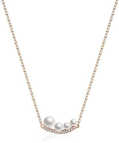 NC110 Collar Personalidad Joyas en Forma de Bola Collar Temperamento Romántico Collar de Cien Conjuntos YUAHJIGE