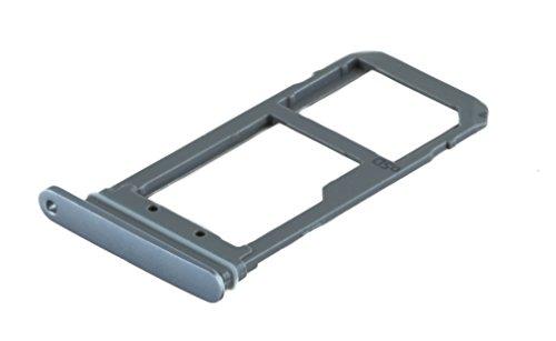 ICONIGON Ersatz für Galaxy S7 (SM-G930F) SIM/SD-Kartenhalter (Sapphire Schwarz)