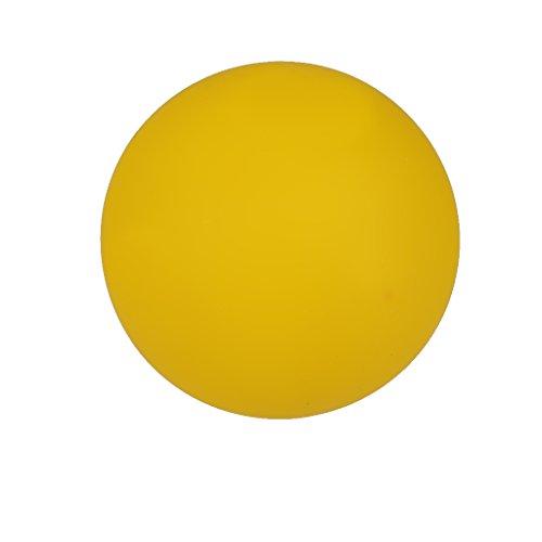 Gelb Silikon Massagekugel Therapie Training Gummikugel 6cm