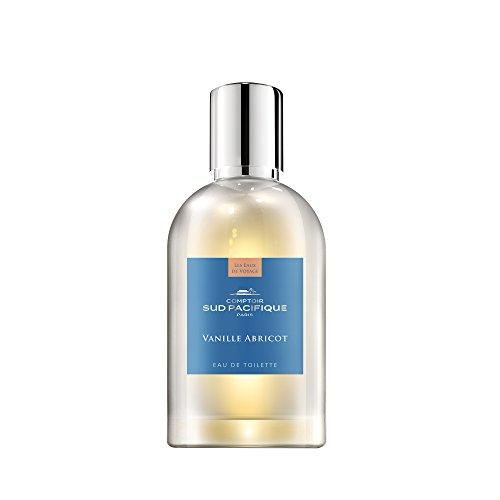 COMPTOIR SUD PACIFIQUE Vanille Abricot, Eau de Toilette Natural Spray, 100 ml