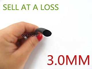 Graven 1 Meter/lot L52 2:1 Black 3mm Diameter Heat Shrink ubing Tube Sleeving Wrap Wire