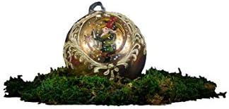 Vetro da Amare - Bola de Navidad de cristal de Murano, juguete de Navidad.