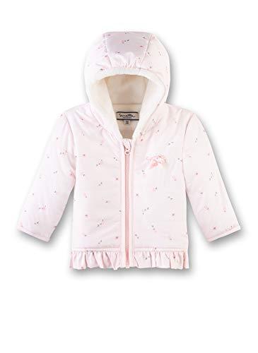 Sanetta Baby-Mädchen Outdoorjacket Jacke, Rosa (Hellrosa 3075), 74 (Herstellergröße: 074)
