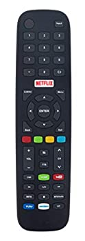 Replaced Remote Control Compatible with Polaroid 4K UHD LED TV Smart TV 55T7U 50T7U 49T7U 43T7U 40T2F 32T2H