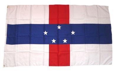 Flagge Fahne Niederländische Antillen 90 x 150 cm FLAGGENMAE®