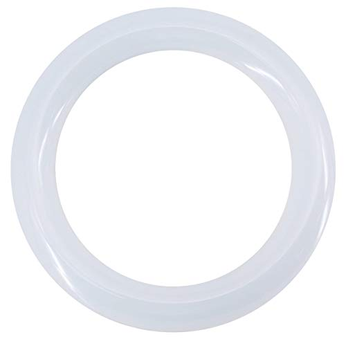 JESLED T9 LED Circline Light Bulb - 8 Inch 1200LM LED Circular Ceiling Light, 10W 6000K Cool White, Replacement for 22W FC8T9 Ring Fluorescent Lamp Fixture Bulb (Ballast Must be Removed or bypassed)