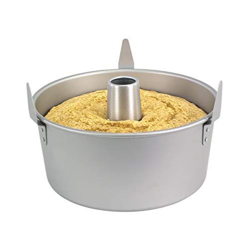 PME - Teglia da Forno in Alluminio per Torta Angel Cake, Diametro 23 cm