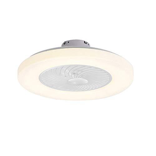 Plafón LED de techo, lámpara moderna para ventilador de techo con mando a distancia, luz de 3 colores, 3 velocidades, ventiladores de techo, 220 V, iluminación LED para dormitorio, salón