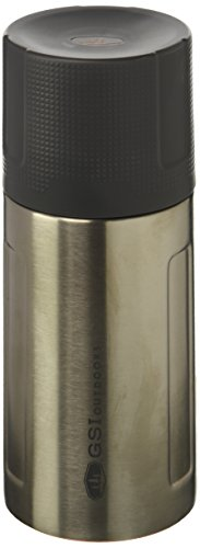 GSI OUTDOORS GLACIER STAINLESS VACUUM BOTTLE .5L (SILVER)