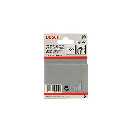 Bosch 2 609 200 249 - Clavo tipo 47-1,8 x 1,27 x 30 mm (pack de 1000)