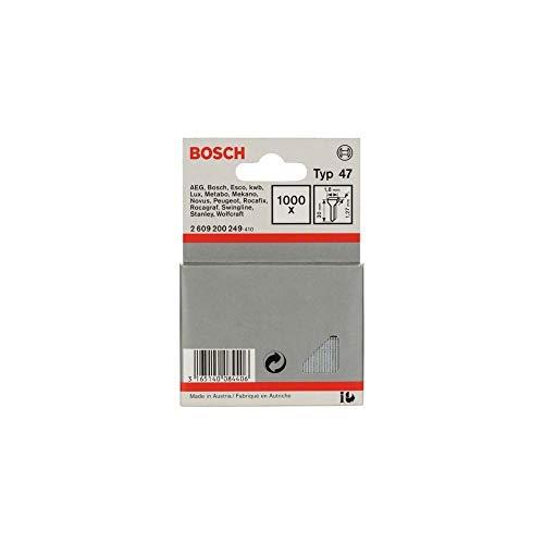 Bosch Professional Accessoires 2 609 200 249 Tackerstift Typ47 1,8 x 1,27 x 30 mm