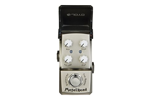 JOYO JF-315 Medalhead Distortion Electric Guitar Single Effect Mini Pedal