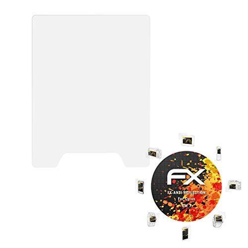 atFolix Panzerfolie kompatibel mit Cyrus cm 7 Schutzfolie, entspiegelnde & stoßdämpfende FX Folie (3X)