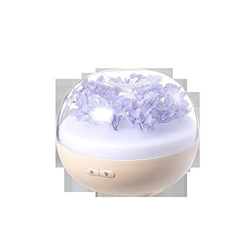 QYYYUNDING USB Difusor de Aroma del humidificador 180 ml Purificador de Aire Colorido de la luz de la Noche Máquina de Fragancia Adecuada para Oficina, Sala de Estar, Dormitorio (Color : Blue)