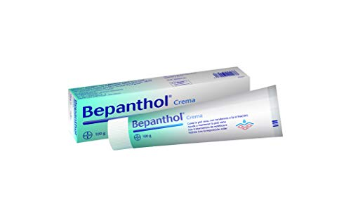 Bepanthol Crema Hidratante, Protege y Regenera la Piel Seca e Irritada, incluso Tras Tratamientos Estéticos y Exposición Solar, 100 g