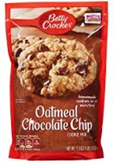 Betty Crocker Oatmeal Chocolate Chip Cookie Mix, 17.5 oz, 2 pk