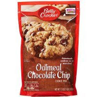 Betty Crocker Oatmeal Chocolate Chip Cookie Mix 17.5 oz 2 pk