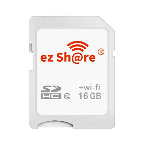 GuDoQi Wireless WiFi SD card 16GB SDHC Class 10 Flash Memory...