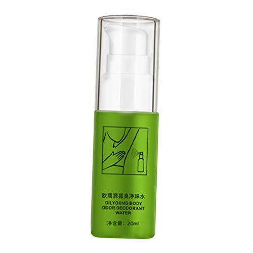 oshhni MABREM Olor Corporal Desodorante para El Sudor Perfume Spray Control Duradero Del Aroma