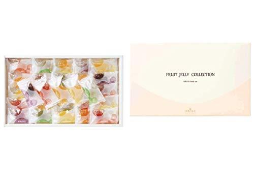 彩果の宝石 フルーツゼリーコレクション (75個入り) 国産もち米あられ1個セット