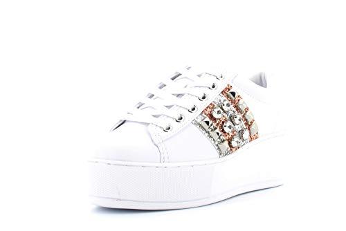 Guess FL7NEO Sneakers con Lacci in Ecopelle da Donna