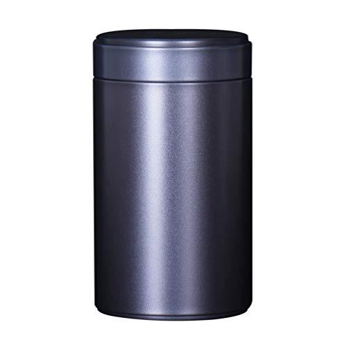 Exceart 3-Delige Roestvrijstalen Jerrycansets Ideaal Voor Suiker Koffie Thee Meel (Zwarte Maat 160)