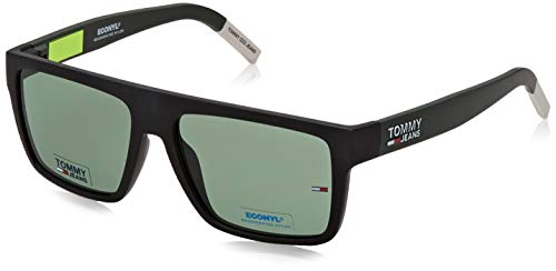Tommy Hilfiger TJ 0004/S gafas de sol, MTBLCKGRN, 56 Unisex Adulto