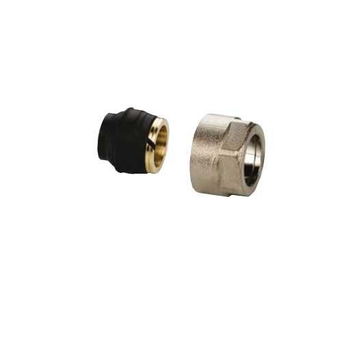 Zubehör Buderus Ventilheizkörper: 1 Paar Simplex Klemmverschraubung für Metallrohre 15 mm