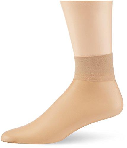 KUNERT Damen Glanz Fein Socken Fresh up 10, Gr. 39/42 (Herstellergröße: 39/42), Beige (CASHMERE 0540)