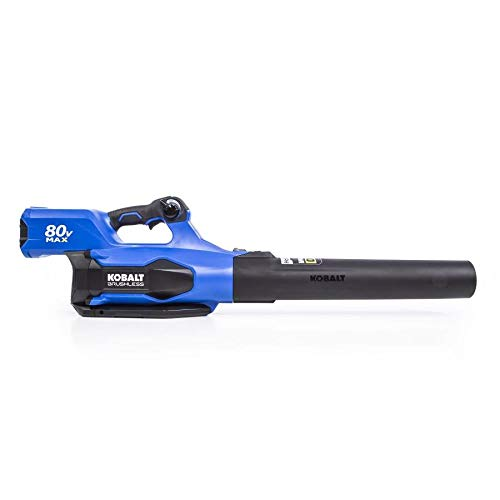 Kobalt Baretool 80-Volt Max Lithium Ion 630-CFM Brushless Cordless Electric Leaf Blower (Tool Only, Battery and Charger Not Included)