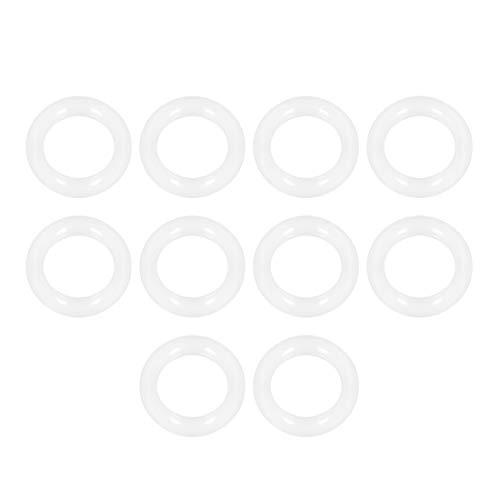 sourcing map 10 Stk.Silikon O Ringe 12mm Innendurchmesser 18mm Außendurchmesser 3mm Breite