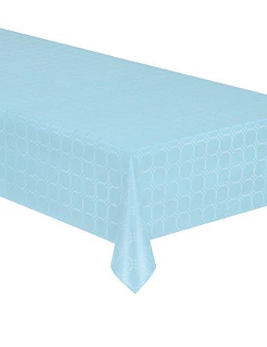 Generique - Nappe en Rouleau Papier damassé Bleu Pastel