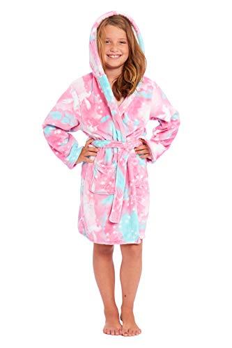 Albornoz para niñas con capucha, ropa de dormir para niños