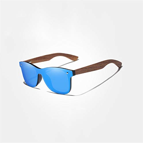 Gafas de Sol clásicas, 2019 Gafas de Sol polarizadas for Hombre Hecho a Mano Colorido de Las Mujeres (Color : Blue, Size : S)