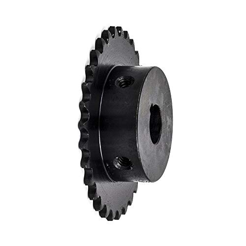 Jeremywell 25B30H-1/2'' Bore 30 Tooth B Type Sprocket for 25 Roller Chain