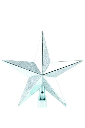 Clever Creations - Adorno para coronar el árbol de Navidad - Ideal para árboles de Cualquier tamaño - Plástico...