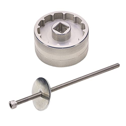 chiwanji Aluminio T47 Herramienta de Soporte Inferior BB Roscado Extractor Extractor Llave de Instalación