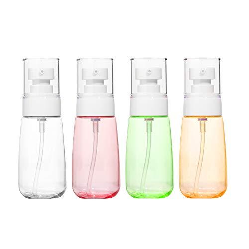 4 Stück Travel Bottle für Lotion,Mehrwegflaschen Dispenser mit Pumpe für Essence Shampoo Seren